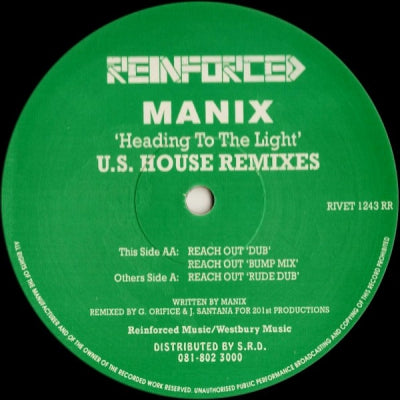 MANIX - Heading To The Light (U.S. House Remixes)