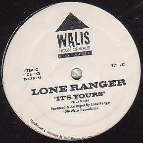 LONE RANGER (Q-TIP) - It's Yours / The Consequences