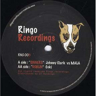 JOHNNY CLARK VS MALA / COKI - Sinners / Goblin