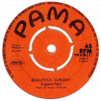 EUGENE PAUL - Beautiful Sunday / Take Care Son