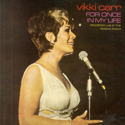 VIKKI CARR - For Once In My Life