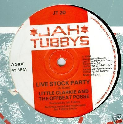 LITTLE CLARKIE AND THE OFFBEAT POSSE - Live Stock Party