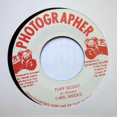 CARL MEEKS - Tuff Scout / Version.