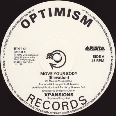 XPANSIONS - Move Your Body '91 remix