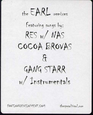 THE EARL - The Earl Remix Vol. 1