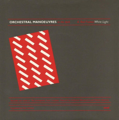 OMD (ORCHESTRAL MANOEUVRES IN THE DARK) - Red Frame/White Light