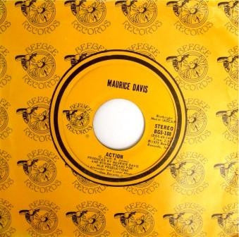 MAURICE DAVIS - Action / Mr. Lonely