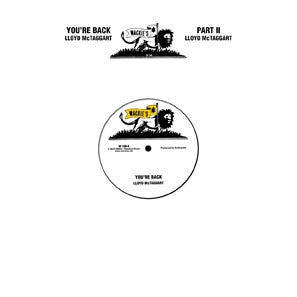 LLOYD MCTAGGART - You're Back (Pt's 1 & 2).