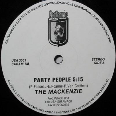 THE MACKENZIE - Party People