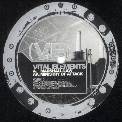 VITAL ELEMENTS - Marshall Law / Ministry Of Attack