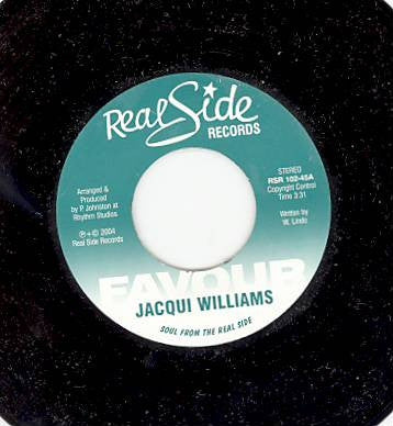 JACQUI WILLIAMS - Favour