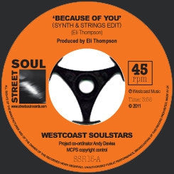 WESTCOAST SOULSTARS - Because Of You / Soul Redemption