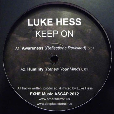 LUKE HESS - Keep On