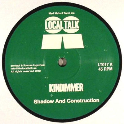 KINDIMMER - Shadow And Construction
