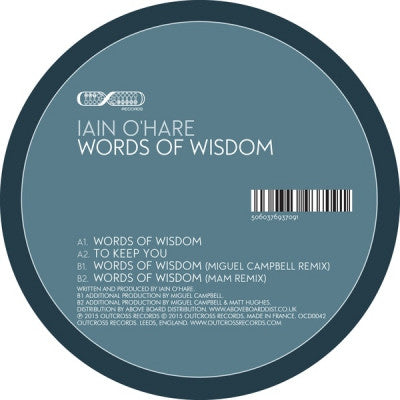 IAIN O'HARE - Words Of Wisdom / To Keep You