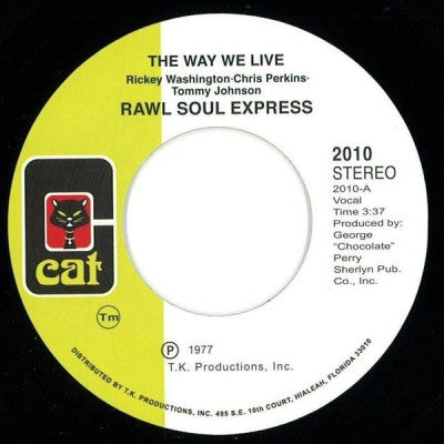 RAW SOUL EXPRESS - The Way We Live / This Thing Called Music