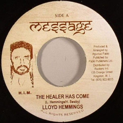 LLOYD HEMMINGS - The Healer Has Come / Dub