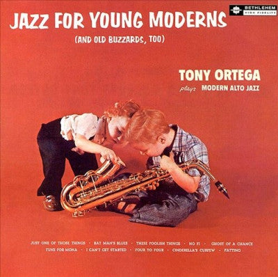 TONY ORTEGA - Jazz For Young Moderns
