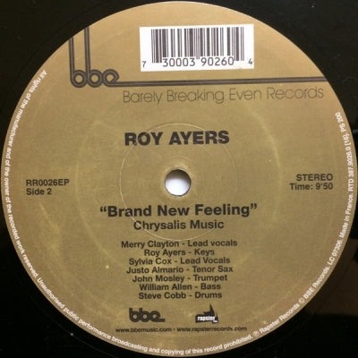 ROY AYERS - Searching / Brand new feeling