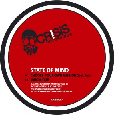 STATES OF MIND - Choose Your Own Mission / Virgin Dub
