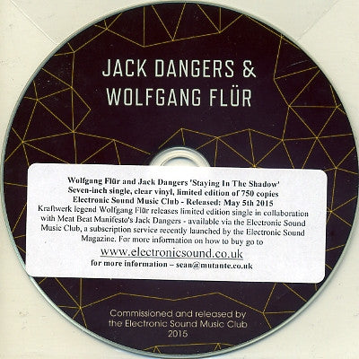 JACK DANGERS & WOLFGANG FLUR - Staying In The Shadows