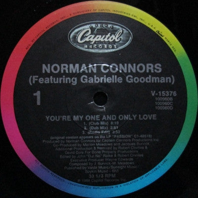 NORMAN CONNORS - You're My One And Only Love