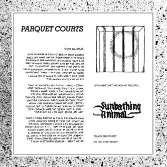 PARQUET COURTS - Black & White / Tic In My Brain.
