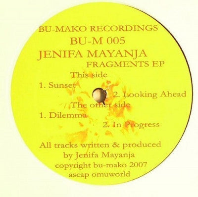 JENIFA MAYANJA - Fragments