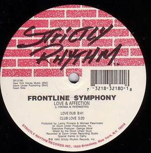 FRONTLINE SYMPHONY - Reach Out / Love & Affection