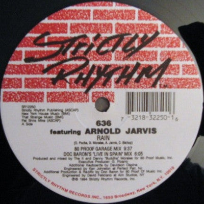 636 FEATURING ARNOLD JARVIS - Rain