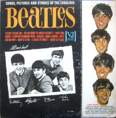 THE BEATLES - Songs and Pictures Of The Fabulous Beatles
