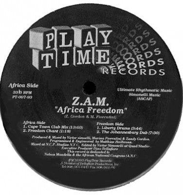 Z.A.M. - africa freedom