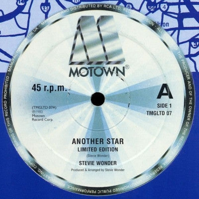 STEVIE WONDER - Another Star / Living For The City