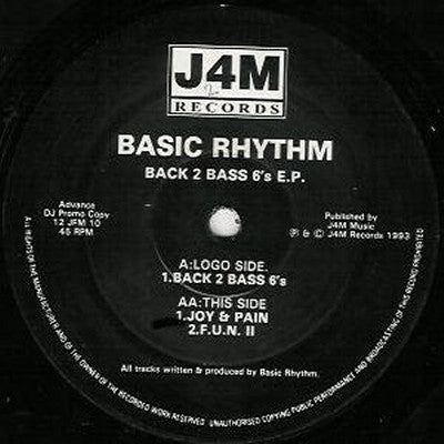 BASIC RHYTHM - Back 2 Bass 6's E.P.