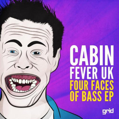 CABIN FEVER UK - Four Faces Of Bass EP
