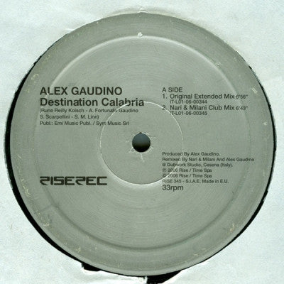 GAUDINO FEAT. CRYSTAL WATERS - Destination Unknown