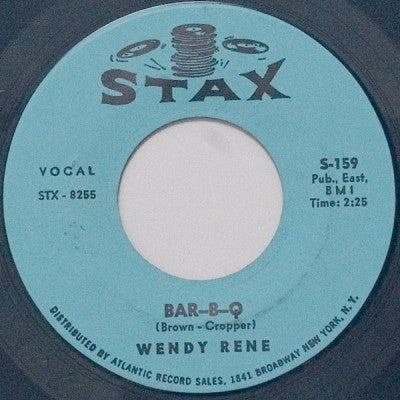 WENDY RENE - Bar-B-Q / Young & Foolish