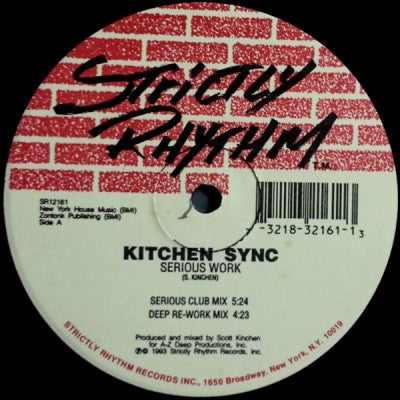 KITCHEN SYNC - Serious Work / Shhh...Deeper