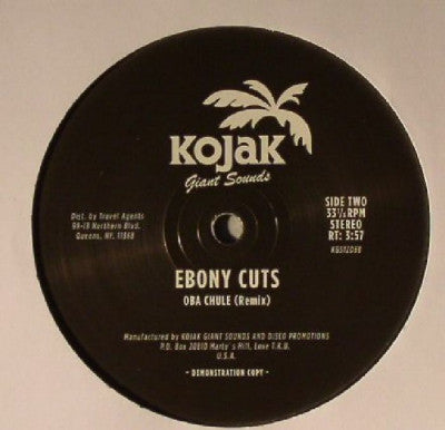 EBONY CUTS - Carrie On / Oba Chule (Remix)