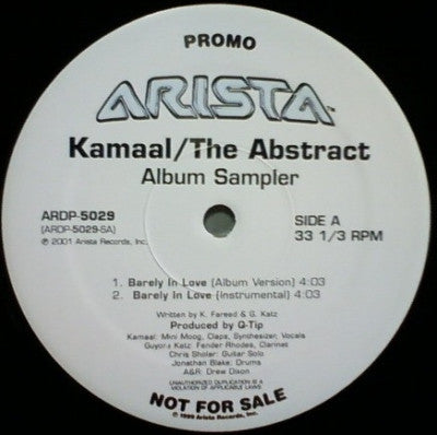 KAMAAL (Q-TIP) - The Abstract (Album Sampler)