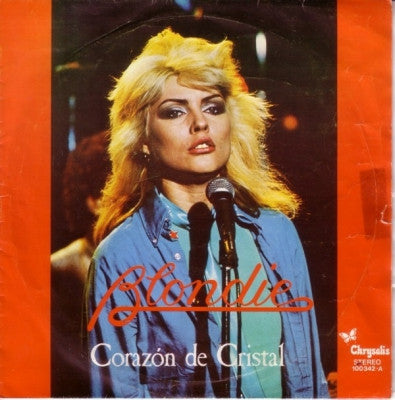 BLONDIE - Corazon De Cristal (Heart Of Glass) / Picture This.
