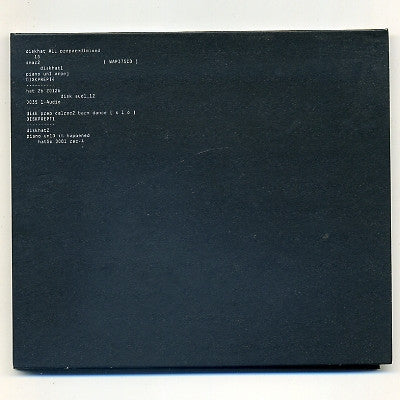 APHEX TWIN Computer Controlled Acoustic Instruments Pt2 (EP) CD single