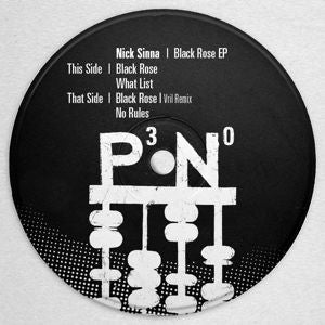 NICK SINNA - Balck Rose EP