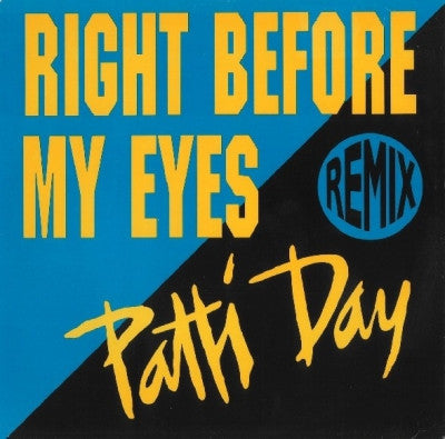 PATTI DAY - Right Before My Eyes