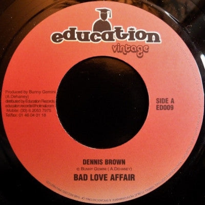 DENNIS BROWN - Bad Love Affair