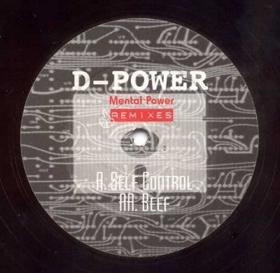 D-POWER - Self Control / Beef (Mental Power Remixes)