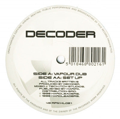 DECODER - Vapour Dub / Set Up