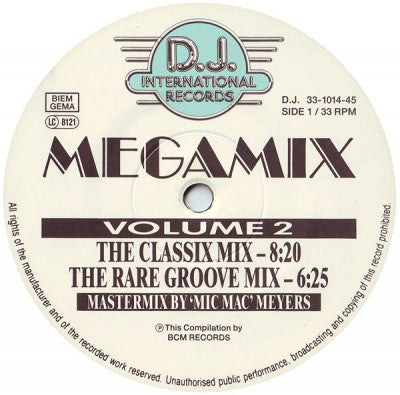VARIOUS - The House Sound Of Chicago - Megamix Volume 2 - 'House' Strikes Again