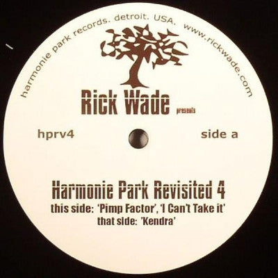 RICK WADE - Harmonie Park Revisited 4