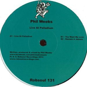 PHIL WEEKS - Live At Palladium